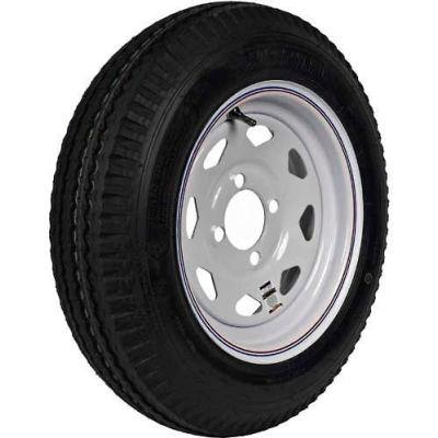 "Martin Wheel 480-12 LRB Trailer Tire & Spoke Wheel Assembly - Bolt Circle 5"" x 4"" - DM412B-5C-I"