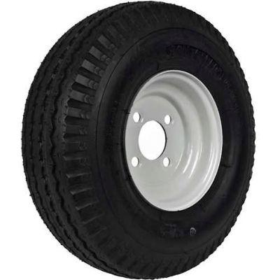 "Martin Wheel 570-8 LRB Trailer Tire & Wheel Assembly - Bolt Circle 4"" x 4"" - DM508B-4I"