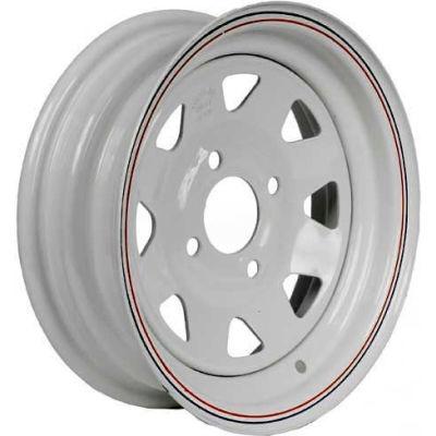 Martin Wheel 12 x 4 4 Hole Custom Spoke Steel Wheel R-124S
