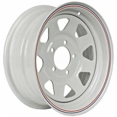 Martin Wheel 14 x 5.5 5 Hole Custom Spoke Steel Wheel R-145CS