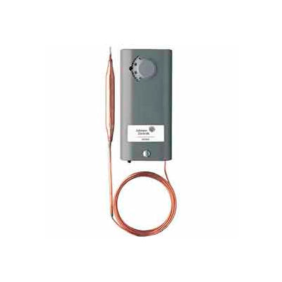 Johnson Controllers Temperature Controller A19ABA-40C Remote Bulb, SPST - Open Low, Cool Only