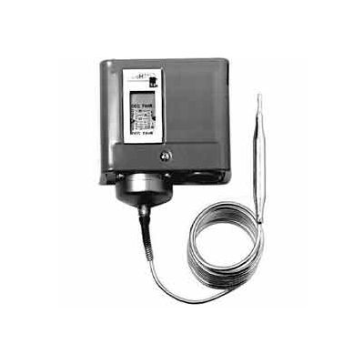 Johnson Controllers Temperature Controller A70BA-18C Coiled Capillary, SPST - Open Low, Cool Only
