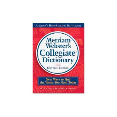 Merriam-Webster Collegiate Dictionary, 11th Edition, 1 Each