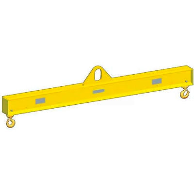 M&W 18' Lift Beam Low Headroom, Multiple Length - 30,000 Lb. Capacity