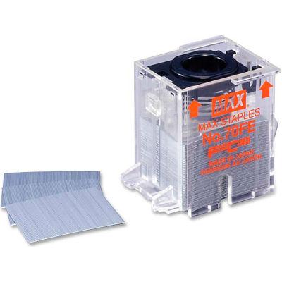 MAX® Flat Clinch Stapler Cartridge, For MAX EH-70F Stapler, 70 Sheet Capacity, 5000/Box