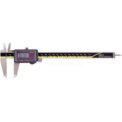 Mitutoyo 500-475 Super Caliper 0-8''/200MM Solar Powered Stainless Steel Digital Caliper