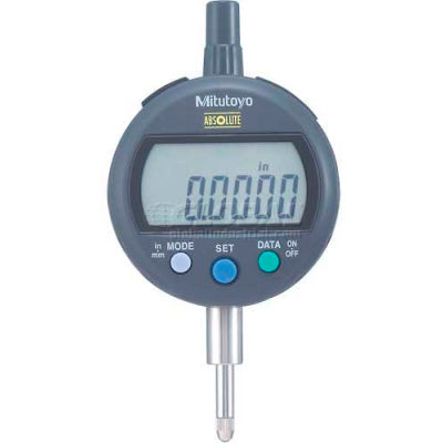 "Mitutoyo 543-402B ID-C Series 0-.5"" / 0-12.7MM Digimatic Electronic Indicator W/ Flat Back"