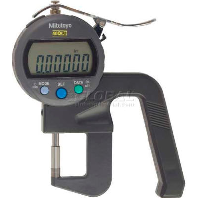 "Mitutoyo 547-400S 0-.47"" / 0-12MM Digimatic Digital Thickness Gage (.00005"" Resolution)"