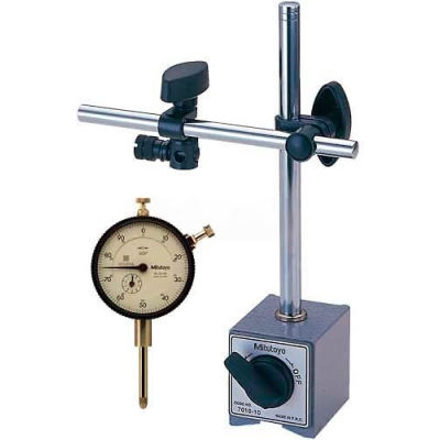 Mitutoyo 64PKA079 Dial Indicator and Magnetic Base Set
