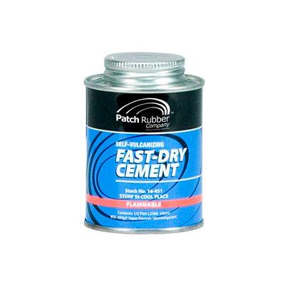 Passenger Tire Fast-Dry Self -Vulcanizing Cement - 1/2 Pint - Min Qty 2