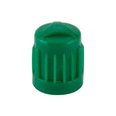 Green Plastic Valve Cap for Nitrogen Inflated Tires