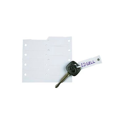 White Key Tags - 1000 per Box
