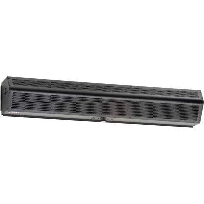 """Mars® LoPro Series 2 Air Curtain 96"""" Wide Electric Heated 460/3/60 115/1/60 26 KW Obsidian Blk"""