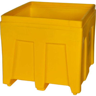 """Myton Bulk Shipping Poly Container SO-3626 - 36""""L x 32""""W x 29-1/2""""H, Gray"""