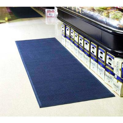 "WaterHog® Entrance Mat Fashion Border 3/8"" Thick 6' x 20' Medium Blue"