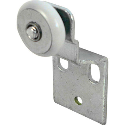 Prime-Line N 6517 Closet Door Roller with 1/2-Inch Offset and 3/4-Inch Nylon Wheel,(Pack of 2)