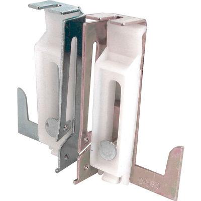 Prime-Line N 6549 Closet Door Bottom Guide, 1 Left 1 Right