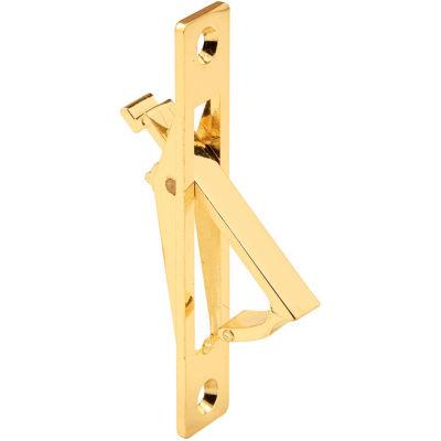 Prime-Line N 6768 Pocket Door Flush Pull, Brass Plated