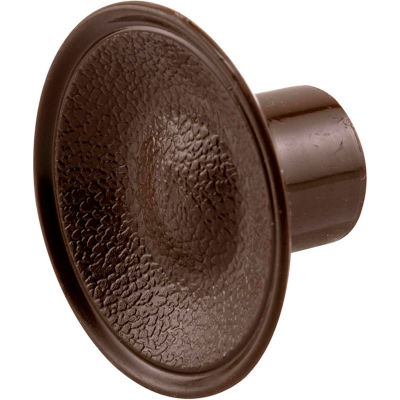 Prime-Line N 6871 Bi-Fold Door Pull Knob, Brown Plastic,(Pack of 2)