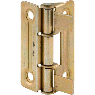 Prime-Line N 6936 Bi-Fold Door Hinge, Brass Plated,(Pack of 2)
