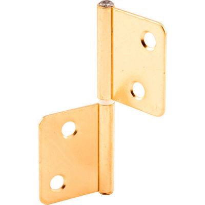 Prime-Line N 7025 Bi-Fold Door Hinge, Brass Plated Steel