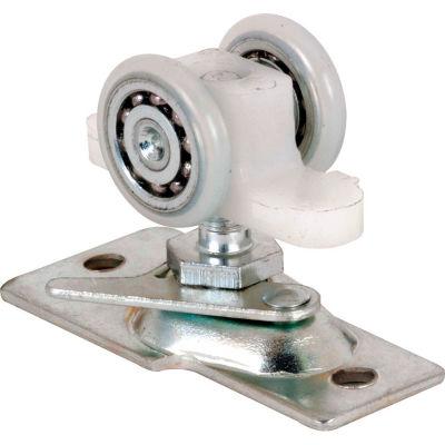 Prime-Line N 7065 Pocket Door Roller Assembly, 13/16 in., Convex, Steel Bracket & Ball Bearings