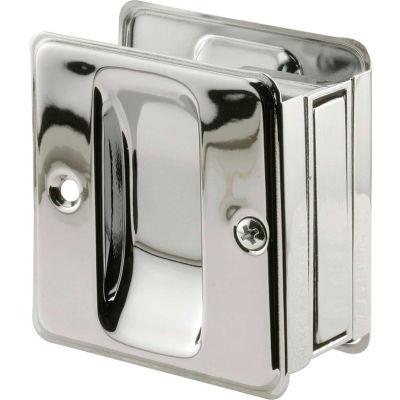 Prime-Line N 7085 Pocket Door Passage Pull, Chrome Plated