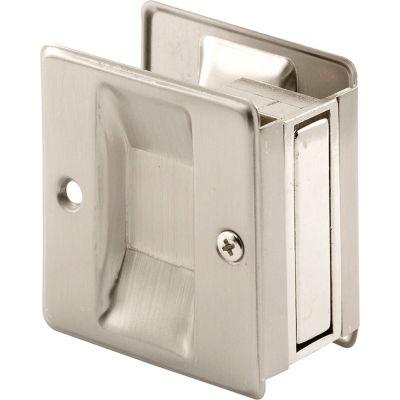 Prime-Line N 7238 Pocket Door Passage Pull, Satin Nickel