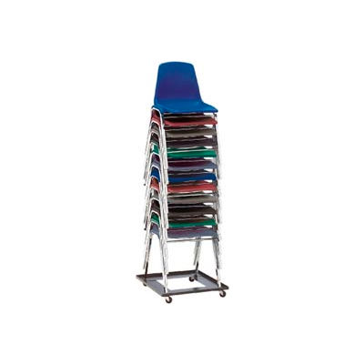 Interion® Universal Dolly For Stacking Chairs - 10 Chairs Capacity