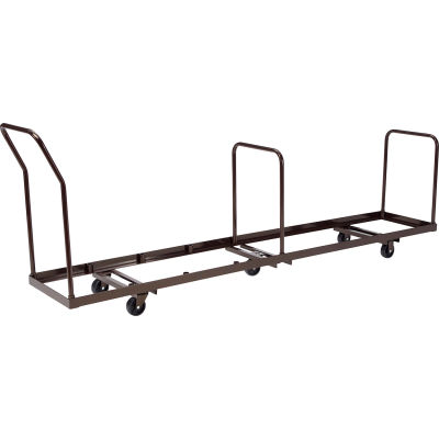 Interion® Chair Cart for Folding Chairs - Vertical Stack - 50 Chair Capacity