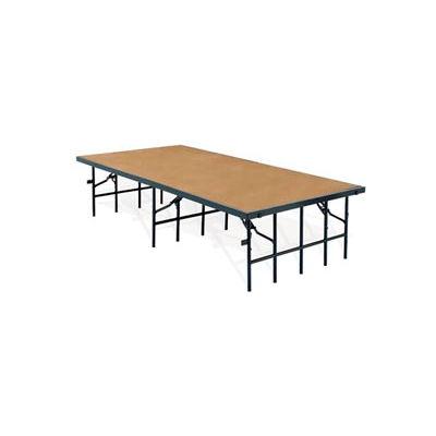 "Portable Stage with Hardboard - 96""L x 36""W x 32""H"