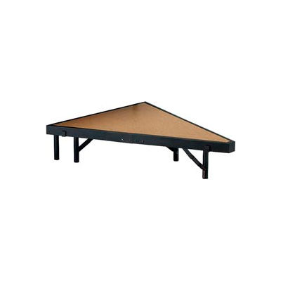 """Stage Pie Unit with Hardboard for 36""""W x 8""""H Stage Units"""