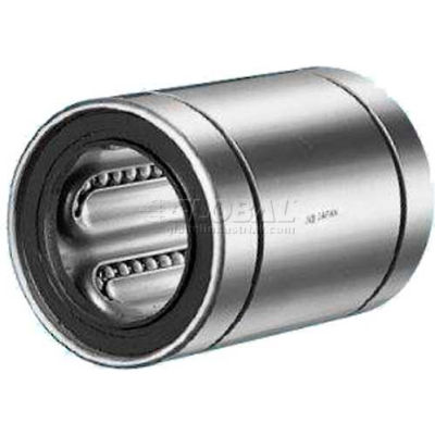 """NB Corp Steel Closed Linear Bearing W/Resin Retainer SW4G, 1/4""""ID, 0.75""""L"""