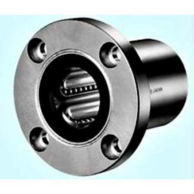 "NB Corp SWF24 1-1/2"" ID Round Flange Type Linear Bearing, Steel"