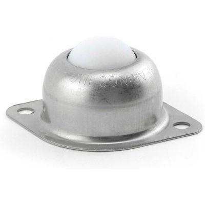 "Hudson Bearings 1"" Nylon Main Ball with Two Hole Flange Carbon Steel Housing NBT-1CS - 2""W"
