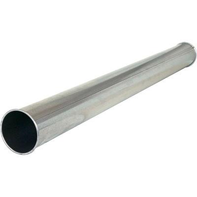 "Nordfab QF Pipe, 8"" Dia, Galvanized Steel"