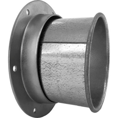 """Nordfab QF Angle Flange Adapter, 16"""" Dia, 304 Stainless Steel"""