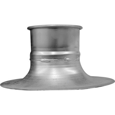 """Nordfab QF Bellmouth Adapter, 10"""" Dia, Galvanized Steel"""
