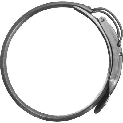 """Nordfab QF Clamp With Pin, 10"""" Dia, Galvanized Steel"""