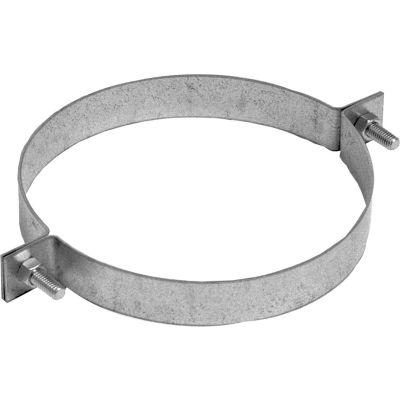 "Nordfab QF Pipe Hanger, 8"" Dia, Galvanized Steel"