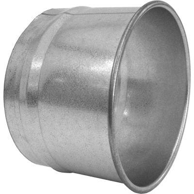 "Nordfab QF Hose Adapter, 8"" Dia, Galvanized Steel"