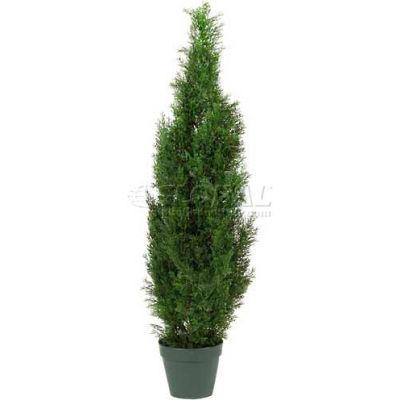 Nearly Natural 4' Cedar Tree Silk Tree (Indoor/Outdoor)