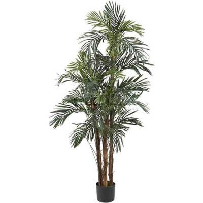 Nearly Natural 5' Robellini Palm Silk Tree