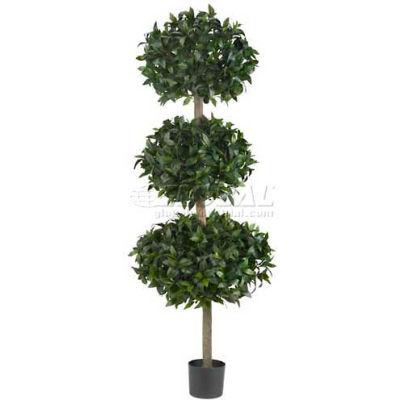 Nearly Natural 69'' Sweet Bay Triple Ball Tree