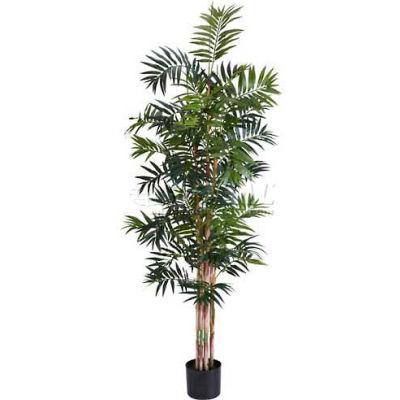 Nearly Natural 6' Bamboo Palm Silk Tree