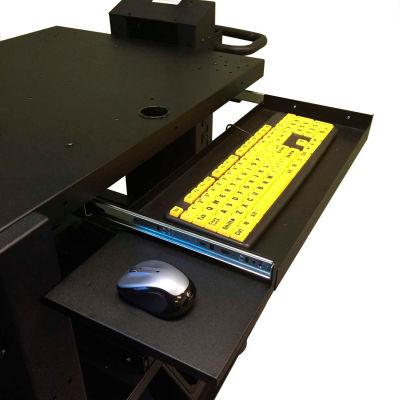 Newcastle Systems Heavy-Duty Keyboard and Mouse Tray For NB & PC Series Workstations