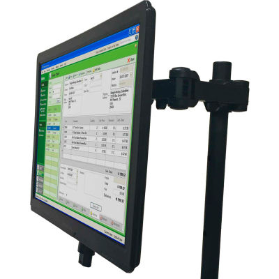 Newcastle Systems Post Mount Single Monitor Holder For NB, PC & EC Series Workstations