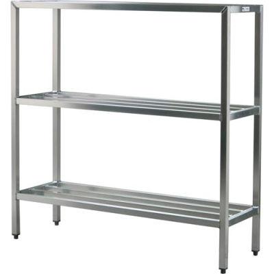 "New Age - Aluminum Heavy Duty 3-Shelf Rack, 20""W x 60""H x 48""L"