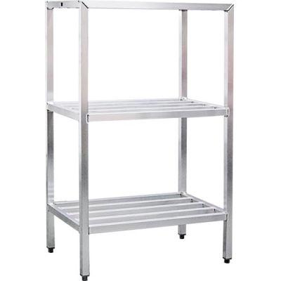 "New Age - Aluminum Heavy Duty 3-Shelf Rack, 24""W x 60""H x 60""L"