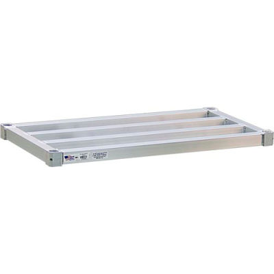 "New Age - Aluminum Adjustable Heavy Duty Shelf, 20""W x 30""L"